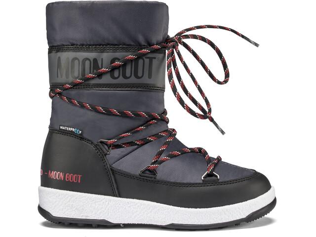 Moon Boot Sport WP Talvikengät Pojat, black/castlerock